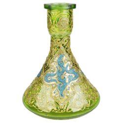 Vodní dýmka Alqariab Tulip 85cm zelená(SJR05)