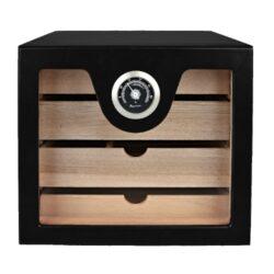 Humidor na doutníky Cabinett Black na 60 doutníků, stolní(92000)