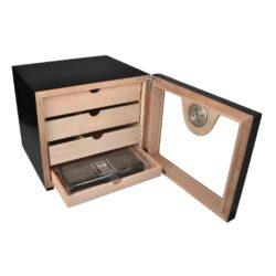 Humidor na doutníky Cabinett Black(92000)
