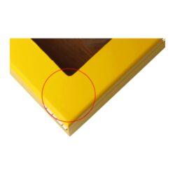 SLEVA Humidor na doutníky Yellow prosklený(920460)