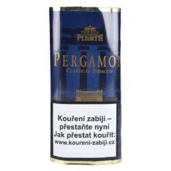 Dýmkový tabák Pergamon, 50g-Oblíbený dýmkový tabák Pergamon německého typu. Jemně aromatizovaná vyvážená tabáková směs s příchutí orientálních tabáků, které jí dávají pikantnější chuť. Balení pouch 50g.