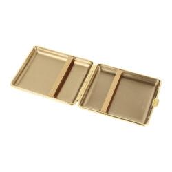 Cigaretové pouzdro kožené vom Hofe Brown, 18cig.(801100)