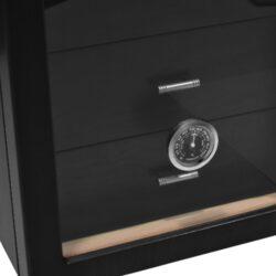Humidor na doutníky Cabinett černý(920670)