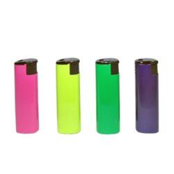 Zapalovač Eurojet Metall Mix-Zapalovač žhavící nebo s normálním plamenem. Zapalovač je plnitelný.V balení je 12 zapalovačů žhavících a 12 s normálním plamenem. Provedení: žhavící zapalovač- černé, červené, zlaté, stříbrné, zapalovač s normálním plamenem - růžové, žluté, zelené, modré. Cena je uvedena za 1 ks.