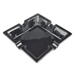 Doutníkový popelník keramický Angelo, černý(424000)