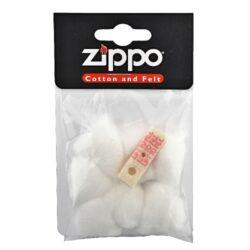 Vata do zapalovače Zippo-Originální náhradní vata do benzínových zapalovačů Zippo včetně těsnění. Balení obsahuje 7 ks vatové výplně a 1 ks plstěného těsnění do spodní části zapalovače.