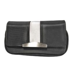 SLEVA 29% Pouzdro na 2 dýmky Etue černé, nylon-SLEVA 29%!  - zip je funkční, pouze lehce drhne. Etue - pouzdro na 2 dýmky se zipem, vnitřní kapsou na kuřácké potřeby a odnímatelným pouchem na tabák. Pouzdro na dýmku je vyrobené z nylonu.