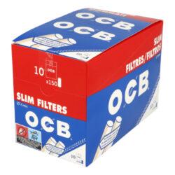 Cigaretové filtry OCB Slim s lepícím proužkem(05300)