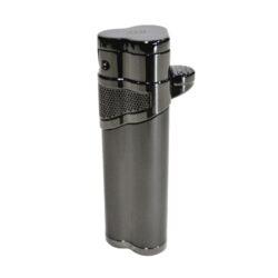 Doutníkový zapalovač Winjet Special Jet, šedý-Žhavící doutníkový zapalovač. Zapalovač na doutníky má integrovaný vyštípávač. Žhavící zapalovač je plnitelný. Doutníkový zapalovač je dodáván v dárkové krabičce. Výška 8cm.