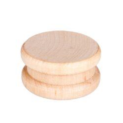 Drtič tabáku, dřevěný-Dřevěný drtič tabáku, dvojdílný. Rozměry drtiče tabáku: průměr 58mm, výška 28mm. Cena je uvedena za 1 ks.