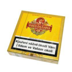 Doutníky Vasco da Gama Cuba Cigarillos, 20ks-Doutníky Vasco da Gama Cuba Cigarillos. Cigarillos jsou balené po 20 doutníčkách v papírové krabičce. Délka 93mm, průměr 9mm. Balení: 5 ks krabiček.