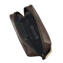 Pouzdro na 2 dýmky Etue, hnědobéžové, koženka(33291)
