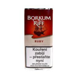 Dýmkový tabák Borkum Riff Ruby 40g-Dýmkový tabák Borkum Riff Ruby. Balení pouch 40g.