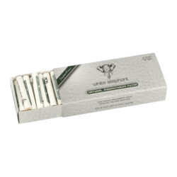 Filtry do dýmky White Elephant Meerschaum 6mm, meršánové, 45ks(640040)