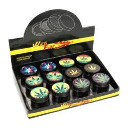 Drtič tabáku Mix, kovový-Kovový drtič tabáku. Trojdílný se sítkem a závitem. Rozměry drtiče tabáku: průměr 5cm. Cena je uvedena za 1 ks.