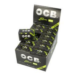 Cigaretové papírky OCB Rolls+Filters-Cigaretové papírky OCB Rolls+Filters. Délka 4 m, šířka 45 mm + 40 filtrů. Prodej pouze po celém balení (displej) 24 ks.