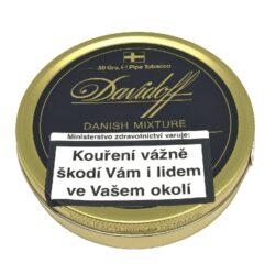 Dýmkový tabák Davidoff Danish Mixture, 50g-Dýmkový tabák Davidoff Danish Mixture. Balení plechová krabička 50g.