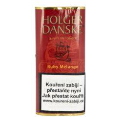 Dýmkový tabák Holger Danske Cherry Vanilla, 40g-Dýmkový tabák Holger Cherry Vanilla. Směs tabáků Virginie a Burley s černým Cavendishem. Tabák s příchutí divokých třešní a vanilky. Balení pouch 40g.