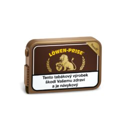 Šňupací tabák Lowen Prise, 10g-Šňupací tabák Lowen Prise. Kořeněný šňupací tabák s osobitou, jemně anýzem kořeněnou chutí určený pro všechny milovníky výrazné chuti čerstvého šňupacího tabáku. Balení 10g.