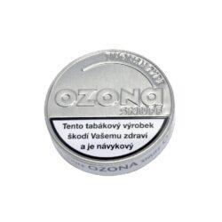 Šňupací tabák Ozona Menthol Snuff, 5g-Šňupací tabák Ozona Menthol Snuff. Velmi jemně mletý šňupací tabák svýraznou příchutí mentolu. Osvěžující jako vysokohorský vzduch plný ozonu. Ozona Snuff je druhá nejznámější značka šňupacích tabáků německé firmy A.Pöschl Tabak. Balení 5g.