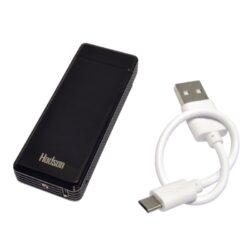 USB zapalovač Hadson Percy Arc, el. oblouk, černý(10401)