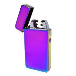 USB zapalovač Hadson Anemoi Arc, el. oblouk, duhový-USB zapalovač s elektrickým zapalováním. USB zapalovač využívá k zapálení elektrický oblouk, namísto tradičního plynu. V zapalovači je integrovaný MicroUSB port, kterým se USB zapalovač dobíjí. V balení je přiložen nabíjecí MicroUSB-USB kabel. Doba nabíjení USB zapalovače cca 60 minut. Výška zapalovače 7,5cm.