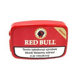 """Šňupací tabák Red Bull Snuff, 10g-Šňupací tabák Red Bull Snuff. Velmi jemně mletý šňupací tabák """"anglického typu"""" s výraznou příchutí mentolu vyrobený na základě originální německé receptury. Balení 10g."""