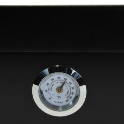 Humidor na doutníky Černý prosklený(561076)