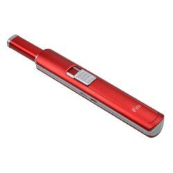 Domácnostní USB zapalovač Wildfire, červený-Domácnostní USB zapalovač s elektrickým zapalováním. USB zapalovač využívá k zapálení elektrický oblouk, namísto tradičního plynu. V zapalovači je integrovaný MicroUSB port, kterým se USB zapalovač dobíjí. V balení je přiložen nabíjecí MicroUSB-USB kabel. Doba nabíjení USB zapalovače je cca 2 - 3 hodiny. Výška zapalovače 19cm.