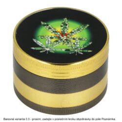 Drtič tabáku kovový Rasta, 50mm(31109)