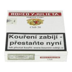 Doutníky Romeo y Julieta Club, 20ks(K 242)