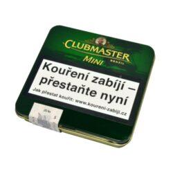 Doutníky Clubmaster Mini Brasil Cigarillo, 20ks-Doutníky Clubmaster Mini Brasil Cigarillo. Cigarillos jsou balené po 20 doutníčkách v plechové krabičce. Délka 67mm, průměr 7,4mm. Balení: 10 ks krabiček.