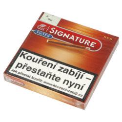 Doutníky Cafe Creme Filter Red, 10ks-Doutníky Cafe Creme Filter Red. Cigarillos s filtrem jsou balené po 10 doutníčkách v papírové krabičce. Délka 75mm, průměr 8,5mm. Balení: 10 ks krabiček.
