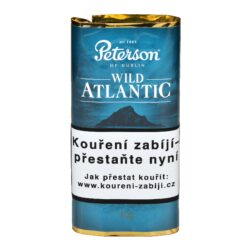 Dýmkový tabák Peterson Wild Atlantic, 40g-Kvalitní dýmkový tabák Peterson Wild Atlantic. Balení pouch 40g.