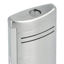 Zapalovač S.T. Dupont Maxijet, chromový broušený(261204)