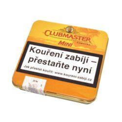 Doutníky Clubmaster Mini Sumatra Cigarillo, 20ks-Doutníky Clubmaster Mini Sumatra Cigarillo. Cigarillos jsou balené po 20 doutníčkách v plechové krabičce. Délka 67mm, průměr 7,4mm. Balení: 10 ks krabiček.