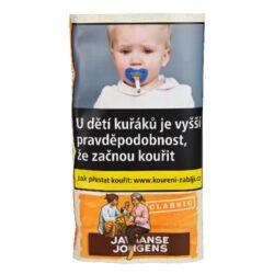Cigaretový tabák Javaanse J. Classic, 40g-Cigaretový tabák Javaanse J. Classic. Balení pouch 40g.