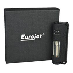 Tryskový zapalovač Eurojet Armin, černý(250023)