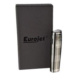 Zapalovač Eurojet Lux, šedý(251414)