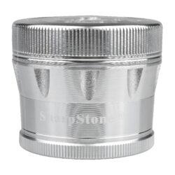 Drtič tabáku ALU Sharp Stone Chrome, 53mm(340181)