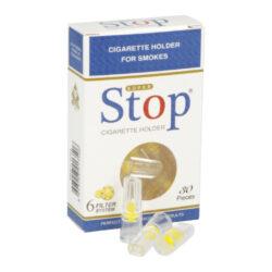 Cigaretové filtry Stopfiltr, 30ks-Cigaretové filtry Stopfiltr. Délka 2,8cm, průměr 0,8cm. V balení 30 ks filtrů. Cena je uvedena za 1 balení.