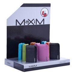 Tryskový zapalovač Maxim Pascin-Kovový tryskový zapalovač. Ve spodní části zapalovače najdeme nastavení intenzity plamene a plnící ventil. Výška 6cm. Tryskový zapalovač je dodáván v dárkové krabičce. Cena je uvedena za 1 ks. Před odesláním objednávky uveďte číslo barevného provedení do poznámky.