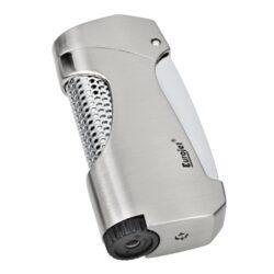 Tryskový zapalovač Eurojet Snap, stříbrný(251210)