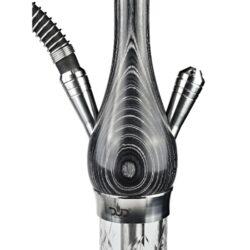 SLEVA! Vodní dýmka DUD Amazonia Black 74cm(FHW63BK)