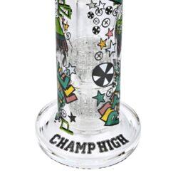 Skleněný bong s perkolací Champ High Funny 33cm(506032)