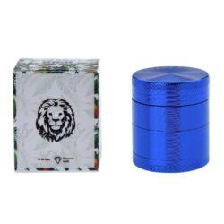 Drtič tabáku kovový Champ High ALU, 40mm, modrý(506048)