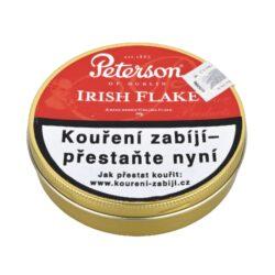 Dýmkový tabák Peterson Irish Flake, 50g-Kvalitní dýmkový tabák Peterson Irish Flake. Balení plechová krabička 50g.
