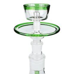 Vodní dýmka DUD Firestarter Green set 43cm, perkolace(PS1005G)