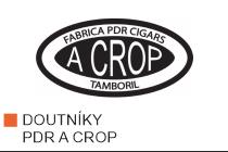 Doutníky PDR A Crop z Dominikánské republiky. Kvalitní ručně balené doutníky z Dominikánské republiky vyrobené z výborných směsí dominikánských a nikaragujských tabáků. Doutníky PDR A Crop charakterizuje středně silná zemitá chuť a bohatý kouř.
