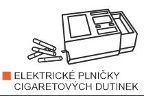 Elektrické plničky cigaretových dutinek Powermatic. Nejprodávanější elektrická plnička cigaret Powermatic II, Powermatic III a Powermatic IV - jasná volba pro plnění cigaret.